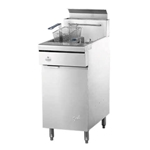 "Quest® Gas Fryer w/Casters, Natural Gas, 46.5"" - 110-FRYMV40(CST-NG)"