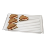 "Cambro® Display Tray, White, 12"" x 20"" - DT1220CW135"
