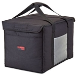 "Cambro® GoBag™ Folding Delivery Bag, Black, Large, 21"" x 14"" x 14"" - GBD211414110"