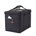 "Cambro® GoBag™ Folding Delivery Bag, Black, Large, 21"" x 14"" x 17"" - GBD211417110"