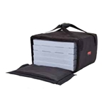 "Cambro® GoBag™ Pizza Delivery Bag, Black, Large, 19.5"" x 19.5"" x 12.5""  - GBP518110"