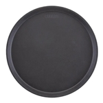 "Cambro® Camtread Round Tray, Black, 16"" - 1600CT110"