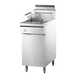 "Quest® Gas Fryer w/Casters, Propane, 46.5"" - 110-FRYMV40(CST-LP)"