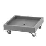 "Cambro® Camdolly® Standard Dolly for Dish Racks, Grey, 22.5"" - CD2020615"