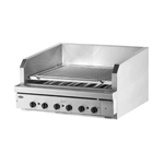 "Quest® Stainless Steel Charbroiler, 48"" - 105-BROQB48(NG)"