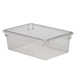 "Cambro® Camwear Food Box, Clear, 18"" x 26"" x 9"" - 18269CW135"