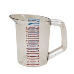 Rubbermaid® Bouncer Measuring Cup, Clear .5 L - FG321500CLR