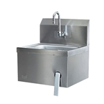 Quest®  Wall-Mounted Hands-Free Sink, Pre-Plumbed -  125A-HFSSINK-P