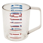 Rubbermaid® Bouncer Measuring Cup 1 Cup, Clear - FG321000CLR