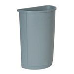 Rubbermaid® Untouchable Container 21 Gal, Grey - FG352000GRAY