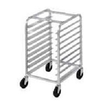 Crown® Riveted Rack, Front Loading, Half Rack, 10 Slot, 18