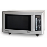 Amana® 1000W 0.9 Cu ft Commercial Microwave - RMS10TS