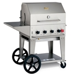 "Crown Verity® Barbecue Package, Natural Gas, 30"" - MCB-30-PKG-NG"