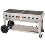 "Crown Verity® Barbecue, Natural Gas, 60"" - MCB-60-NG"
