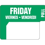 Ecolab® DuraLabel Day Sticker, Friday - 10136-05-31