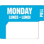 Ecolab® DuraLabel Day Sticker, Monday - 10136-01-31
