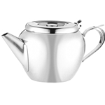 Browne® Stackable Teapot w/Strainer, 12 oz - 515152