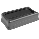 Rubbermaid® Slim Jim Lid 23 & 15 Gal, Grey - FG267360GRAY