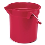 Rubbermaid® BRUTE Pail 14 Qt, Red - FG261400RED
