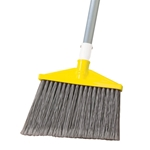 Rubbermaid® Angle Broom, Grey - FG638500GRAY