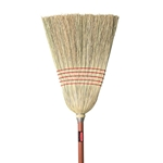 "Rubbermaid® Corn Broom 12"", Red Handle - FG638100RED"