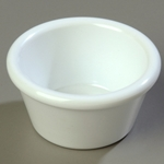 Carlisle® Smooth Ramekin, White, 2 oz - 0852 WHITE