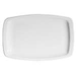 Continental® Polaris Plain White Rectangular Platter, 13.75