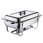 Browne® Stainless Steel Economy Chafer, Full Size, 9 Qt - 575126