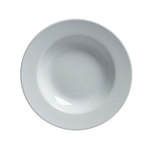 Steelite® Varick Cafe Porcelain Rim Soup Bowl, White, 10 oz - 6900E513