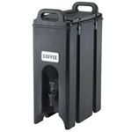 Cambro® Camtainer, Black, 4.75 Gal - 500LCD110
