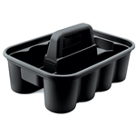 Rubbermaid® Deluxe Carry Caddy, Black - FG315488BLA