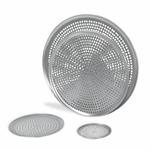 "Browne® Aluminum Perforated Pizza Tray, 16"" - 575356"