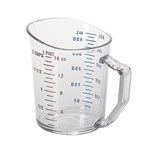 Cambro® Camwear Measuring Cup, Clear, 2 Cup - 50MCCW135