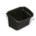 Rubbermaid® Flatware Bin/Utility Cart Attachment, Black - FG335488BLA