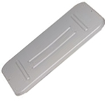 Rubbermaid® Bus/Utility Box Lid, Grey - FG364800GRAY
