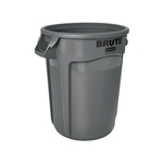Rubbermaid® BRUTE Container 32 Gal, Gray - FG263200GRAY