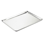 "Browne® Thermalloy Aluminum Bun Pan, 1.0mm Thick, 26"" x 18"" - 58182640"