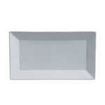 Steelite® Varick Cafe Porcelain Rectangular Tray, White, 14