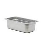 "Signaturewares™ Stainless Steel Steam Table Pan, 1/3 Size, 4""  - STEAMPAN134"