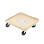 "Vollrath® Plastic Rack Dolly, 20"", Casters: 4 Swivel - 52290"