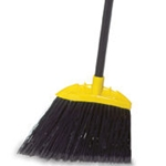 Rubbermaid® Angled Broom, Black - FG638906BLA