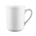 Browne® Palm Ceramic Coffee Mug, White, 8.5 oz - 563981