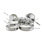 All-Clad® Copper Core 14 Piece Stainless Steel Cookware Set - 60090