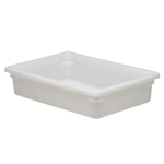 "Cambro® Camwear Poly Food Box, White, 18"" x 26"" x 6"" - 18266P148"