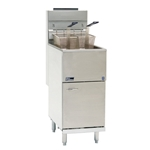Pitco® 40+ Economy Fryer, S/S Tank, Natural Gas - 40C+SN