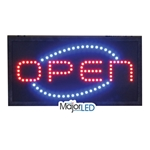 Flanagan Agencies® Open Sign, LED, 18.5