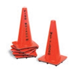 TTS Sales & Marketing® Wet Floor Cone, Orange - 1250ORENGS