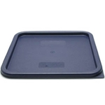Cambro® Camwear CamSquares Lid, Blue, for 12 18 & 22 Qt - SFC12453