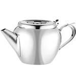 Browne® Stackable Teapot w/Strainer, 20 oz - 515151