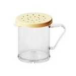 Cambro® Camwear Shaker/Dredger w/Cheese Lid, Yellow - 96SKRC135